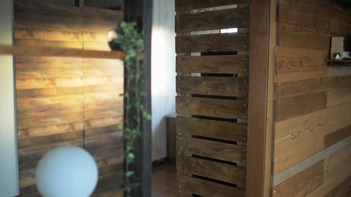 木製 パーテーション diy