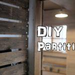 [DIY]キッチンの目隠しにアンティーク風の木製すのこパーテーション!