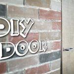 賃貸の部屋を仕切る室内ドアをDIY!手抜きでもなんとかなった(笑)